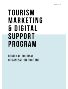 Tourism Marketing & Digital Support Program Icon to PDF Download