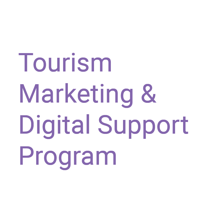 Tourism Marketing & Digital Support Program