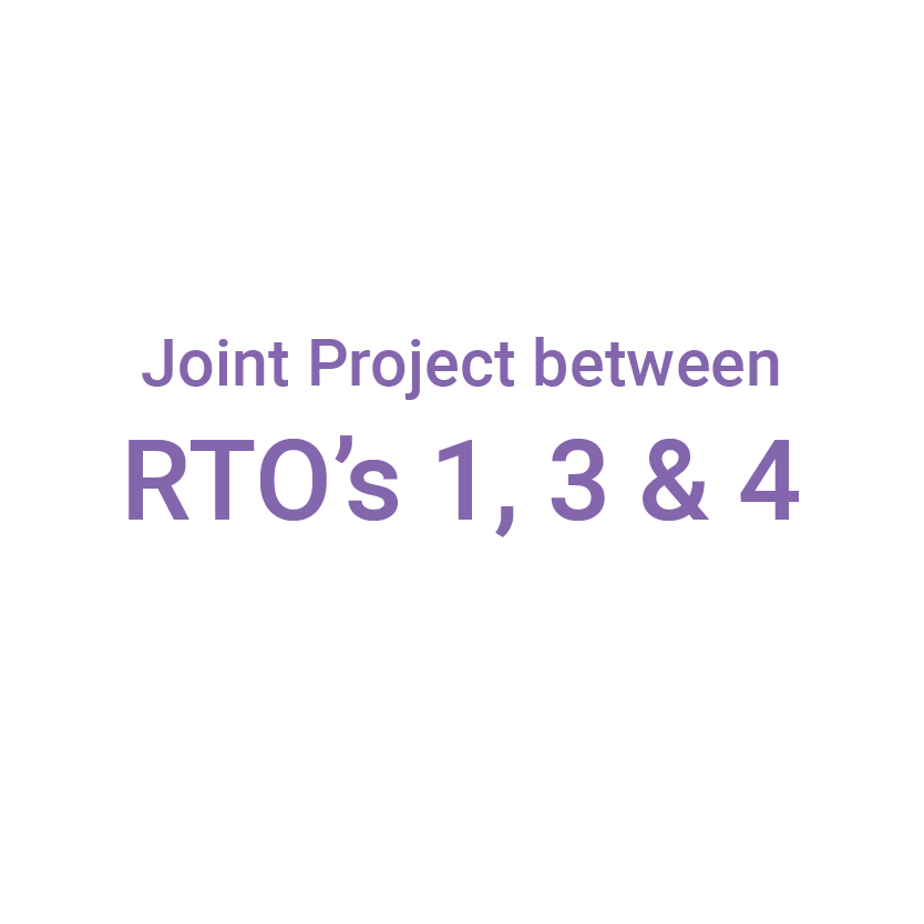 Hoin project between RTO's 1,3 and 4